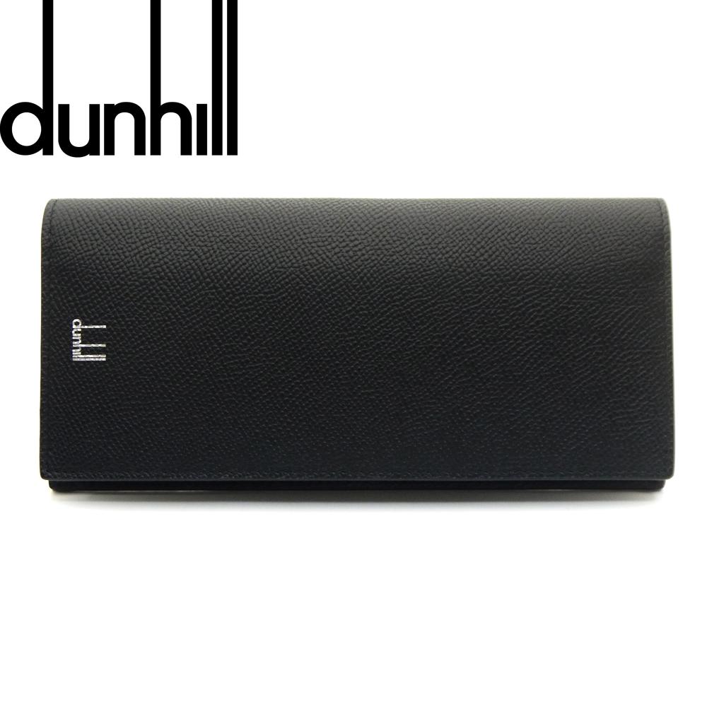 新品 送料無料 ダンヒル dunhill ファスナー付長財布 誕生日/お祝い CADOGAN 001 F2100CA 大放出セール カドガン 即発送可能 ブラック
