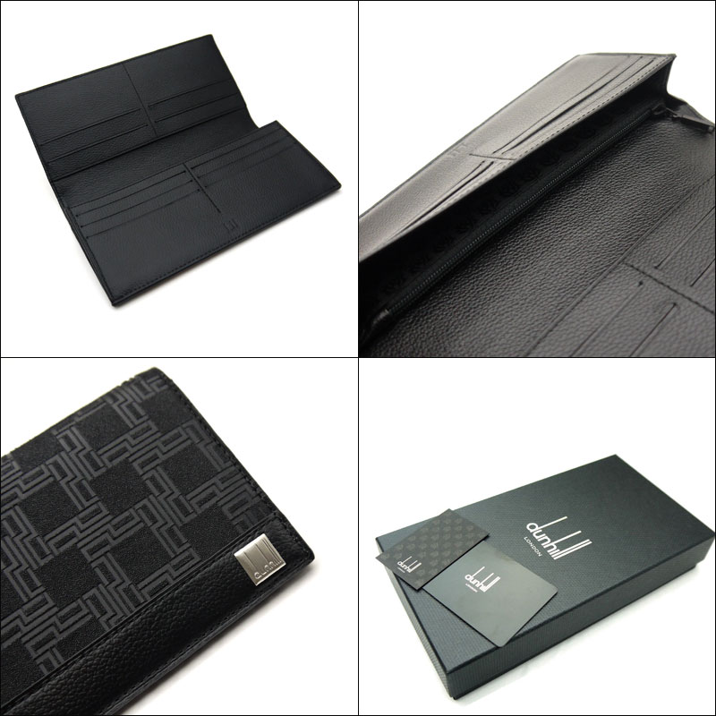 Head wallet, L2LH10A OG1010 with dunhill /dunhill D-EIGHT fastener