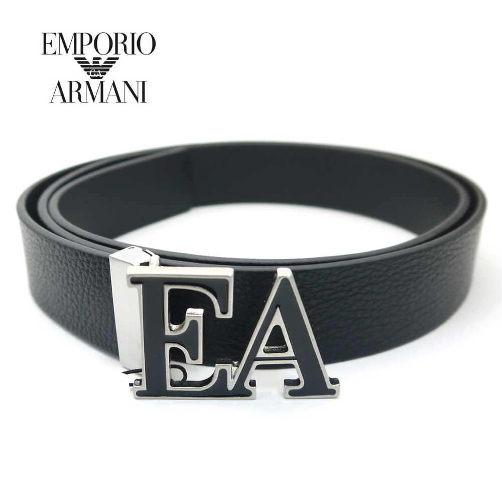 新品 送料無料 限定モデル エンポリオ アルマーニ EMPORIO ARMANI メンズベルト YLQ2E NERO Y4S282 超歓迎された 88001 ブラック 即発送可能