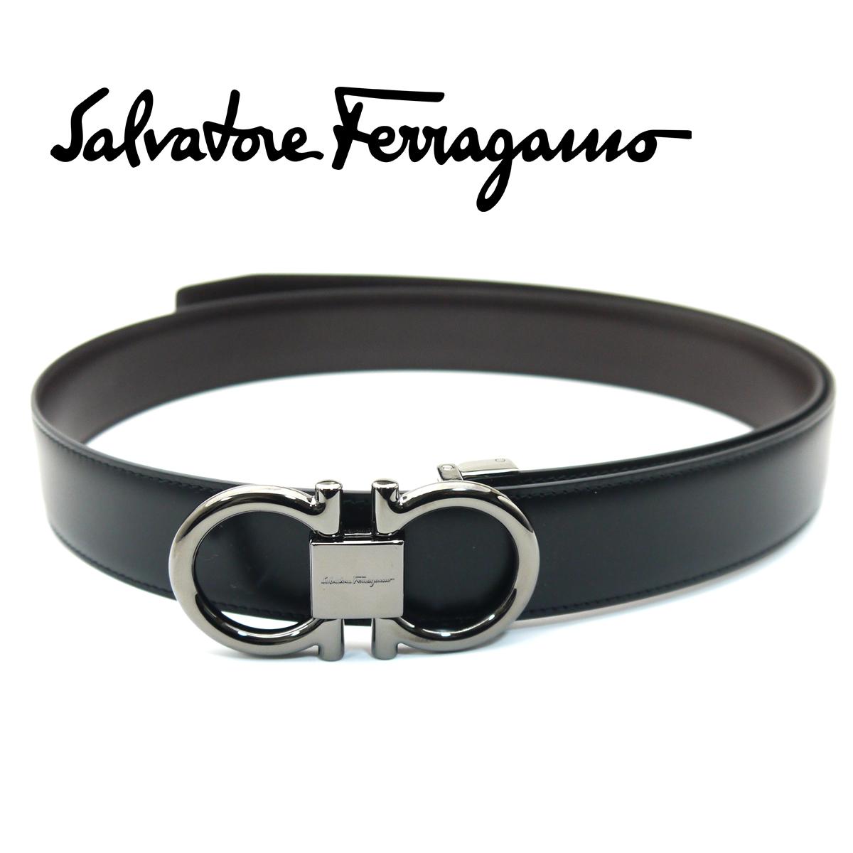 フェラガモ/Salvatore Ferragamo メンズリバーシブルベルト・67-9938【即発送可能】