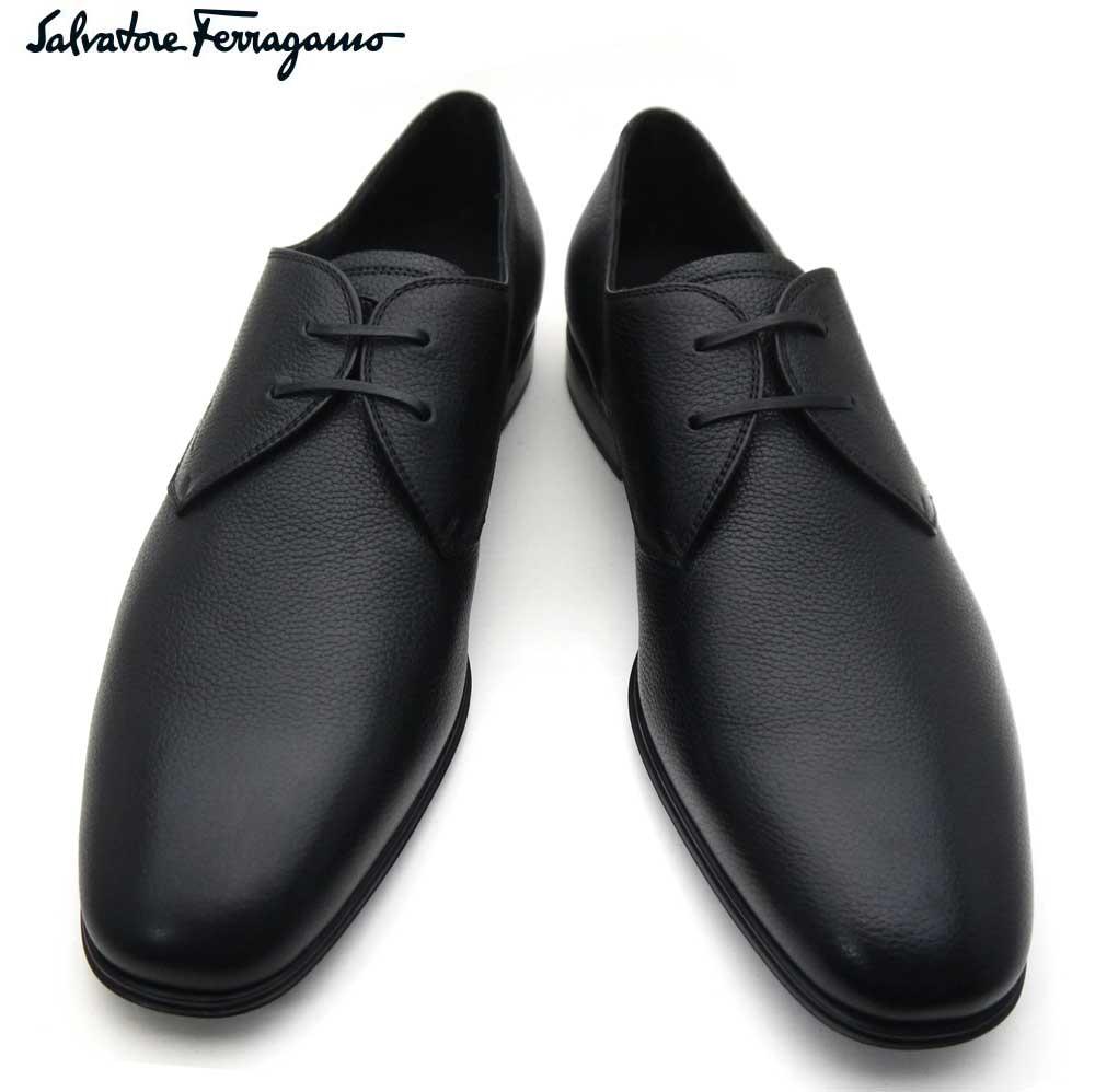 フェラガモ/Salvatore Ferragamo メンズ シューズ 靴 レースアップ FORTUNATO 2 02A271 662386 NERO ブラック 【即発送可能】