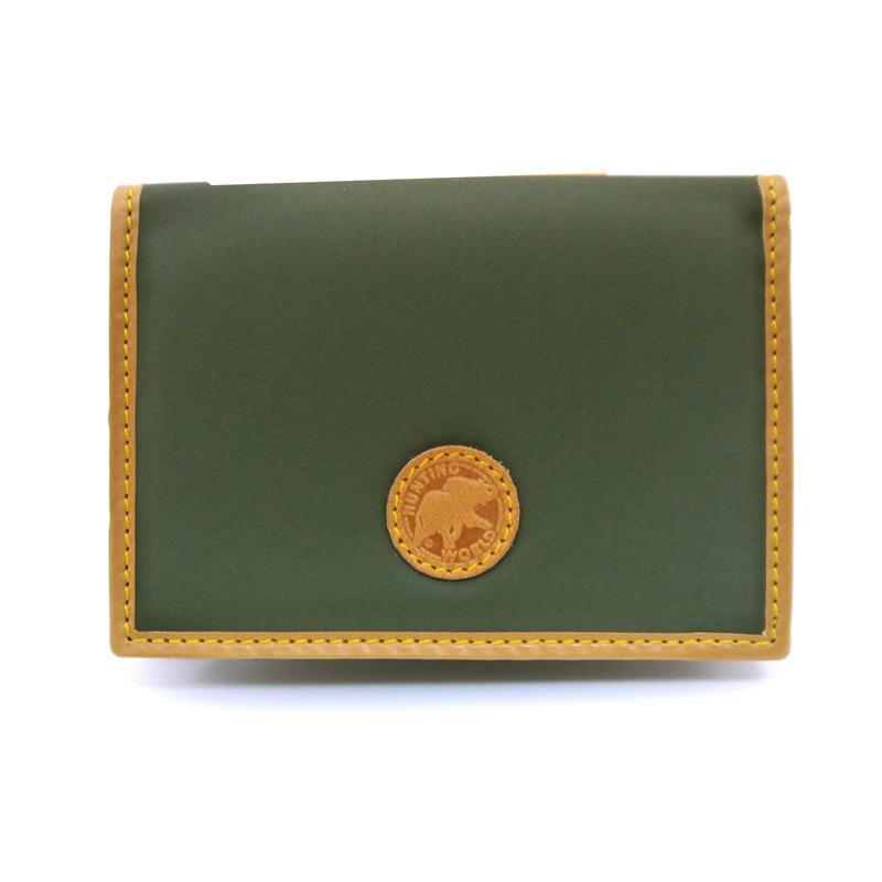 ハンティング ワールド/HUNTING WORLD 名刺入れ カードケース BATTUE ORIGIN 157 10A グリーン