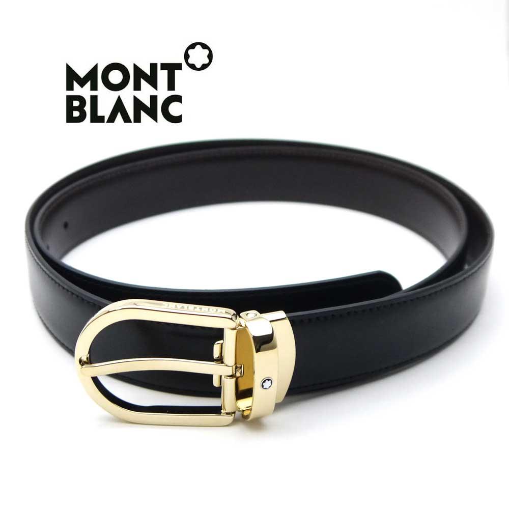 モンブラン/MONT BLANC メンズリバーシブルベルト 111714【新品】【送料無料】