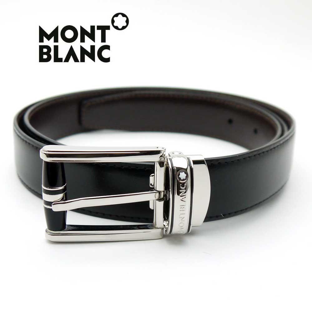 モンブラン/MONT BLANC メンズリバーシブルベルト 114386【即発送可能】