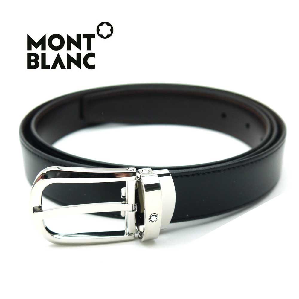 モンブラン/MONT BLANC メンズリバーシブルベルト 114412