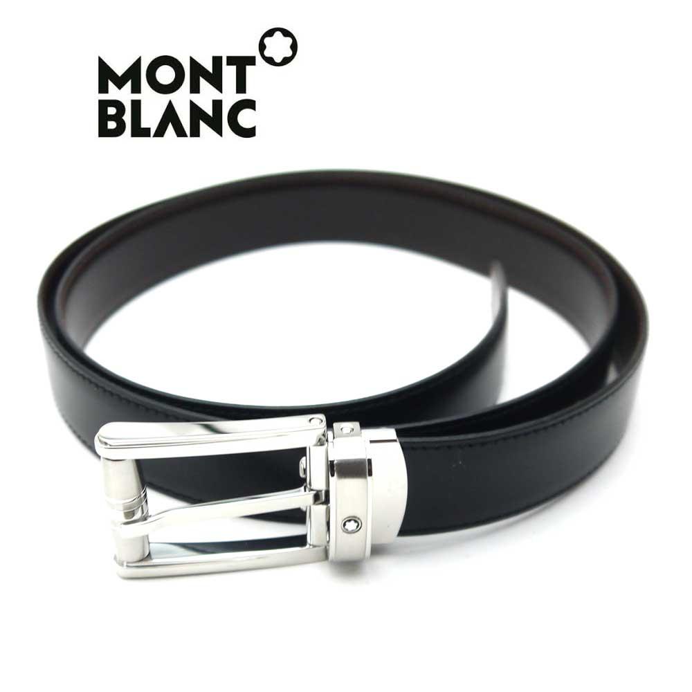 モンブラン/MONT BLANC メンズリバーシブルベルト 114427【新品】【送料無料】【即発送可能】
