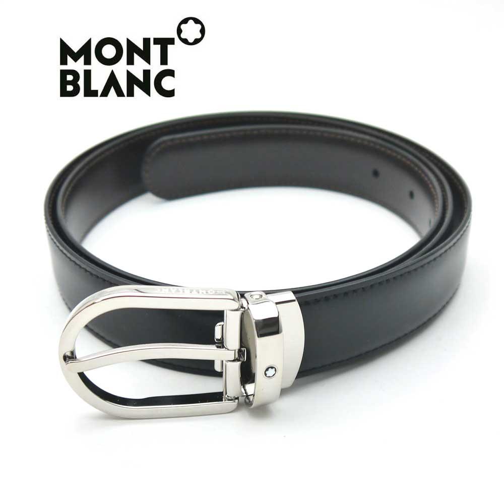 モンブラン/MONT BLANC メンズリバーシブルベルト 38157