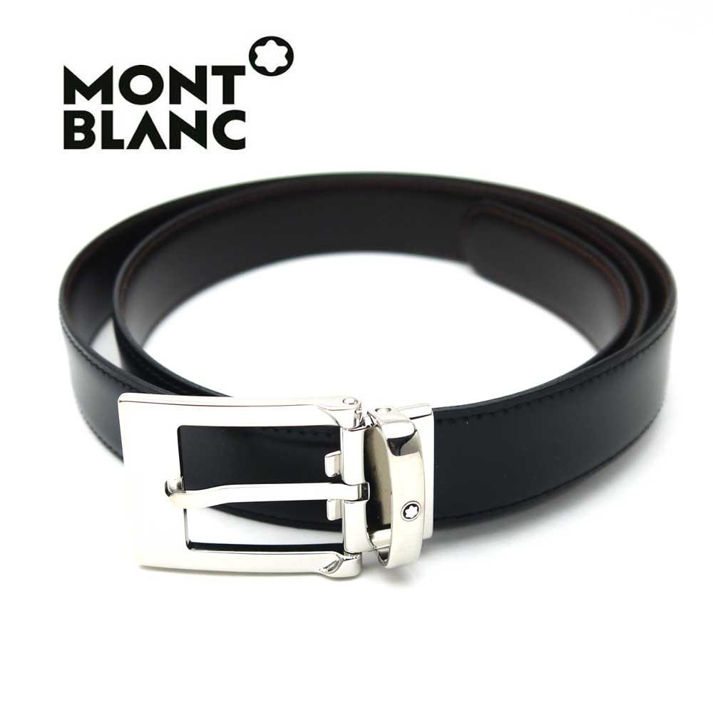 モンブラン/MONT BLANC メンズリバーシブルベルト 9774【即発送可能】