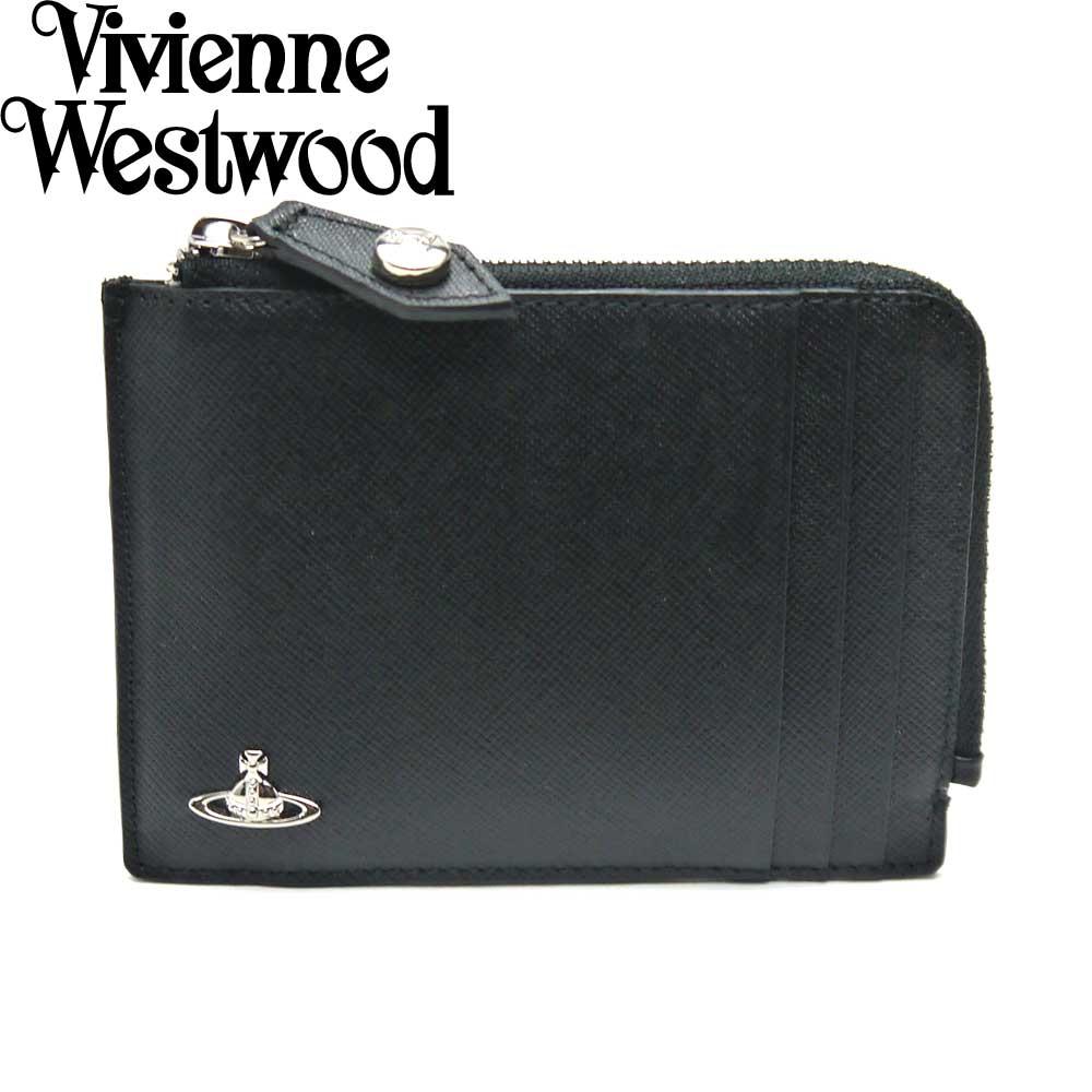 Vivienne Westwood/ヴィヴィアンウエストウッド コインケース 小銭入れ カード入れ メンズ ブラック 33415 BK