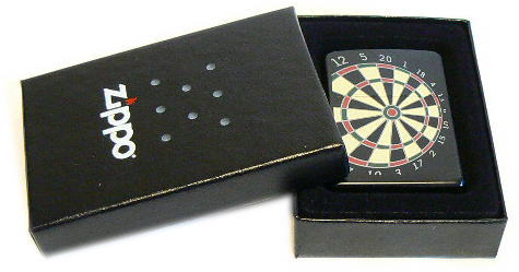 Zippo * Zippo 打火機,飛鏢板,黑色,24332