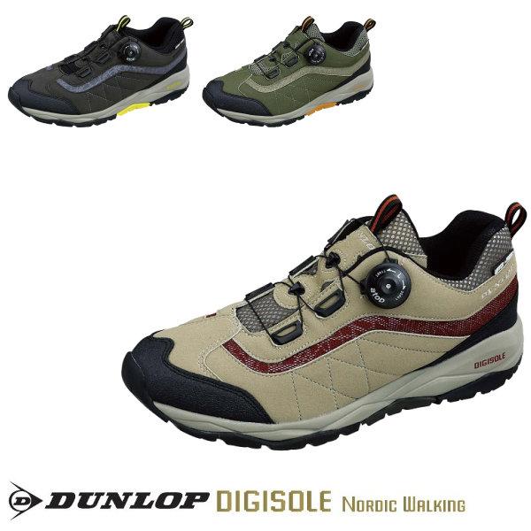 ウォーキングスーズ メンズ DUNLOP ダンロップ デジソール ノルディックウォーキング701WP メンズ 4E 全3色 24.5~28.0CM DW701 スニーカー イチオシ