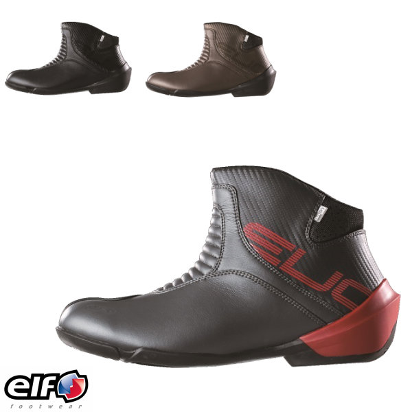 バイク シューズ elf エルフ エヴォルツィオーネ02 全3色 ライディングブーツ EVOLUZIONE02 evo02