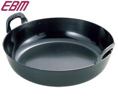 江部松商事/EBM 鉄 プレス 厚板 揚鍋48cm 0228800 (両手鍋・揚げ鍋・業務用)02P30May15