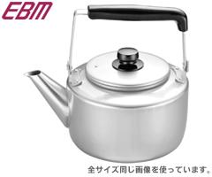 江部松商事/EBM アルマイト 大型ケットル10.0L 4433800 (10L・10リットル・ケトル・やかん・大容量・業務用・厨房用品)