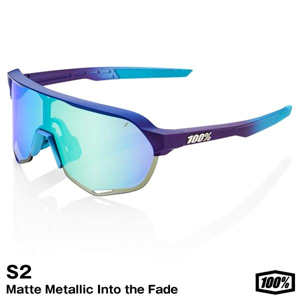 あす楽対応 100% ワンハンドレッド 61003-228-01 超特価SALE開催 サングラス S2 Matte Metallic Into the Topaz Fade - Multilayer Lens 往復送料無料 Blue Mirror