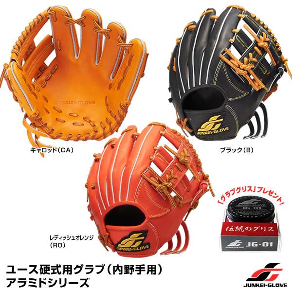 【あす楽対応】ジュンケイグラブ(JUNKEI GLOVE) JG-Y4112 ユース硬式用グラブ(内野手用) スタンダードシリーズ 野球用品 グローブ 2018SS