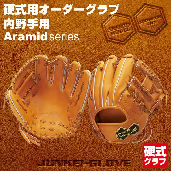 ジュンケイグラブ(JUNKEI GLOVE) 硬式用オーダーグラブ 内野手用 アラミドシリーズ グローブ 野球用品 2018SS