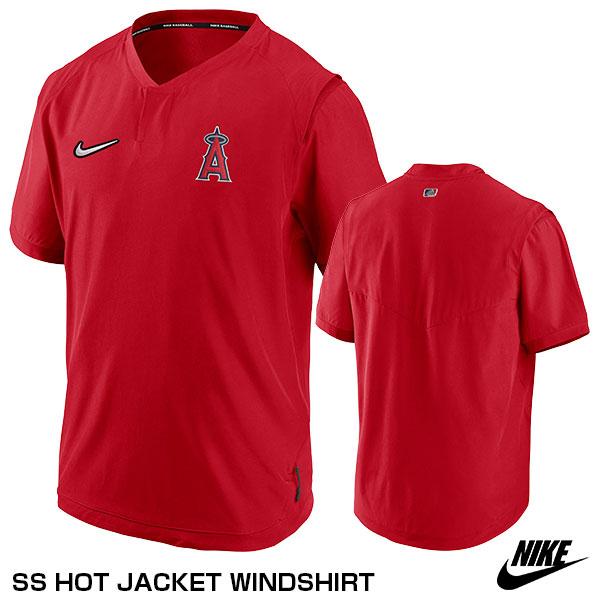 【あす楽対応】ナイキ(NIKE) NKAV-163N-ANG-N1H ウィンドシャツ(半袖) SS HOT JACKET WINDSHIRT 限定品 野球用品 2020SS