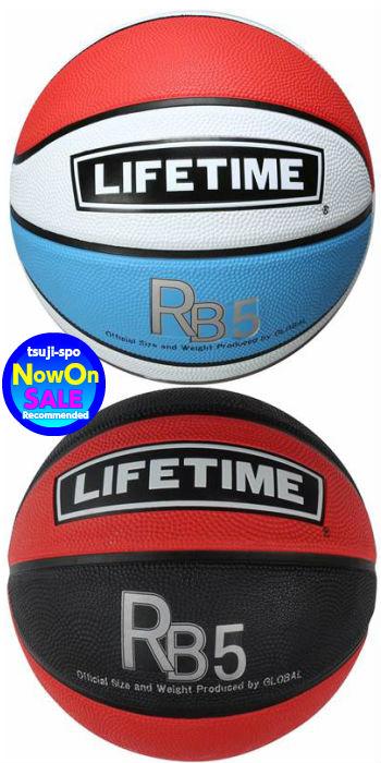 アウトドアに適したラバー仕様バスケットボール5号球 ミニバスケット5号 GLOBAL 売店 定番 グローバル バスケットボール5号 タチカラ LIFETIME〔SBBRB5〕