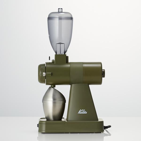 ネクストG カリタ 電動コーヒーミルNEXT-G AG(アーミーグリーン) 送料無料 ネクストG『スペシャルティーコーヒー豆100gおまけ付き』