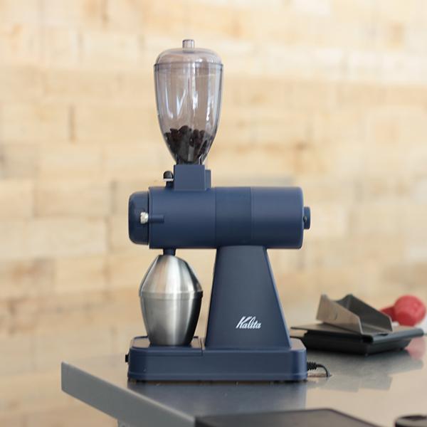 ネクストG カリタ 電動コーヒーミルNEXT-G SB(スモーキーブルー) 送料無料 kalita next-g ネクストG『スペシャルティーコーヒー豆100gおまけ付き』