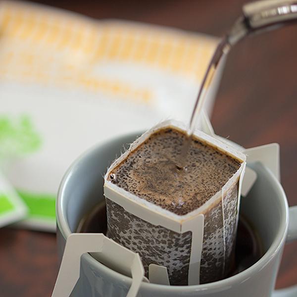 カフェインレス ドリップコーヒー 2種類24杯詰め合わせセットカフェインレスコーヒー デカフェ出産祝い 御祝 ノンカフェイン カフェインレス プチギフト