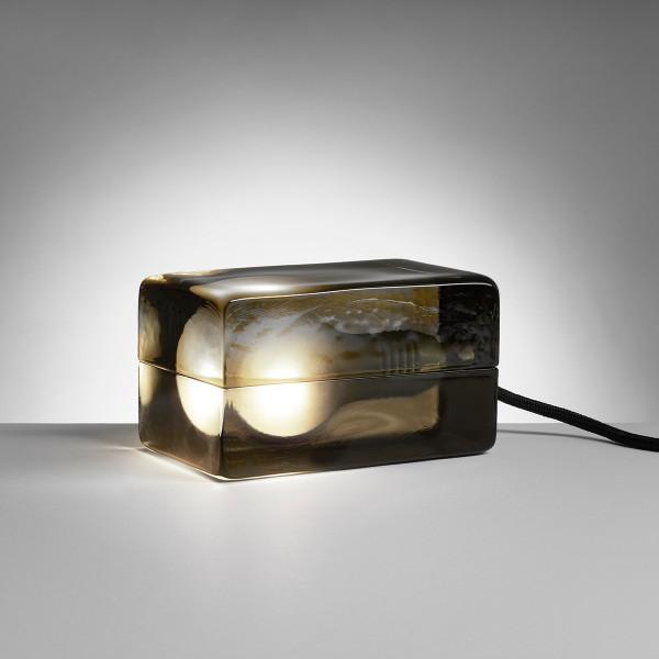 ブロックランプ スモーク ブラックコードデザインハウスストックホルム 25周年限定カラーBLOCK LAMP SMOKE blackcordDESIGN HOUSE stockholm 新築祝い