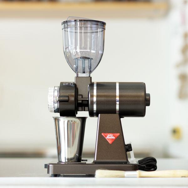 ナイスカットG(Nice cut G)プレミアムブラウン家庭用電動コーヒーグラインダー カリタ kalitaスペシャルティコーヒー豆100gオマケ付き 新築祝い・ご褒美に