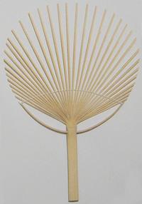 竹うちわ骨タイプ(唐月型)100本セット