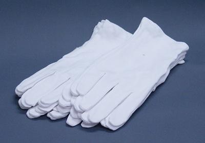 選挙用・白手袋10ダース(120双入り)