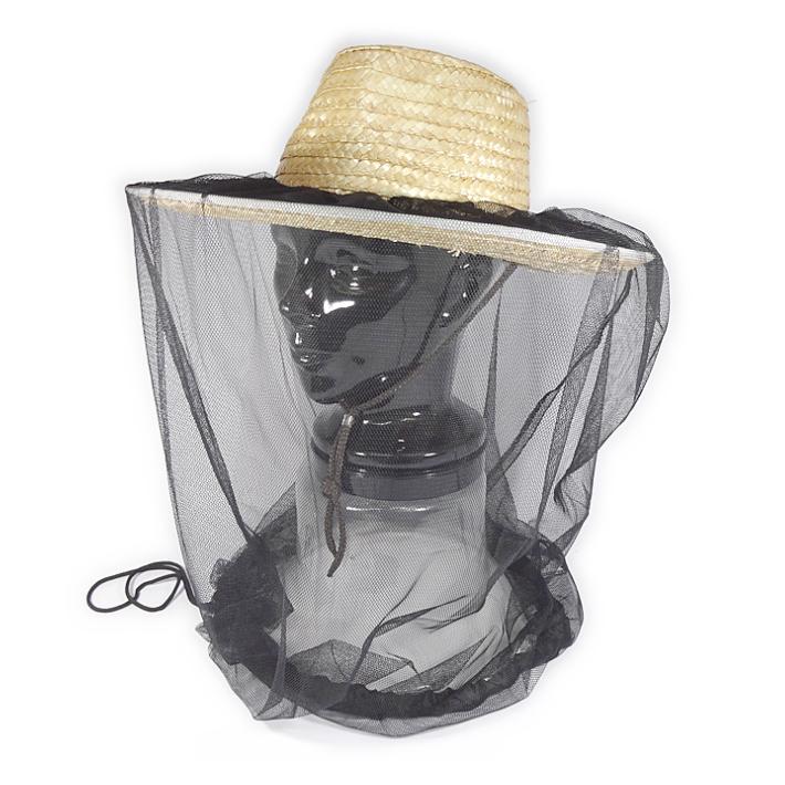ファッション通販 送料無料 帽子に付けれる防虫ネット ガーデニングや農作業に便利です 大特価!! 虫 帽子 装着 防虫 ネット フィッシング 帽子に装着 虫よけ 釣り 農作業 防虫ネット 夏 ガーデニング