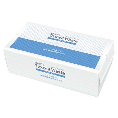【法人・企業様限定販売】[sss]○お取り寄せ商品 ネピア テクセル ウエス 厚手標準 50枚×12パック 73863