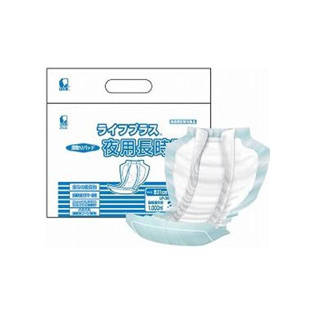 【個人様購入可能】[sss]●代引き不可 送料無料 近澤製紙 ライフプラス 夜用長時間 LP-30NL 30枚×6袋 61088