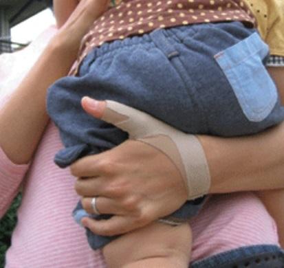 ダイヤ工業 bonbone 品質保証 腱鞘炎 ばね指 ゆびサポーター かぐや姫 軽度用の親指サポーター おや指< 秀逸