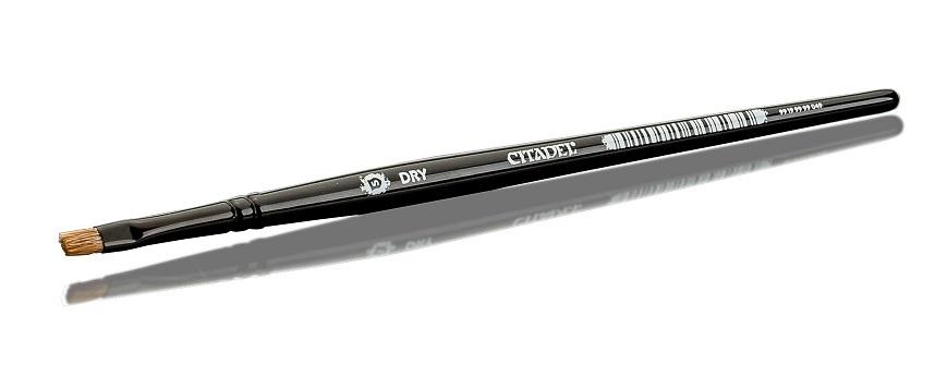 シタデル カラー対応の筆 ドライ対応の細い筆 ドライ S ブラシ 買物 CITADEL 筆 DRYBRUSH 供え SMALL
