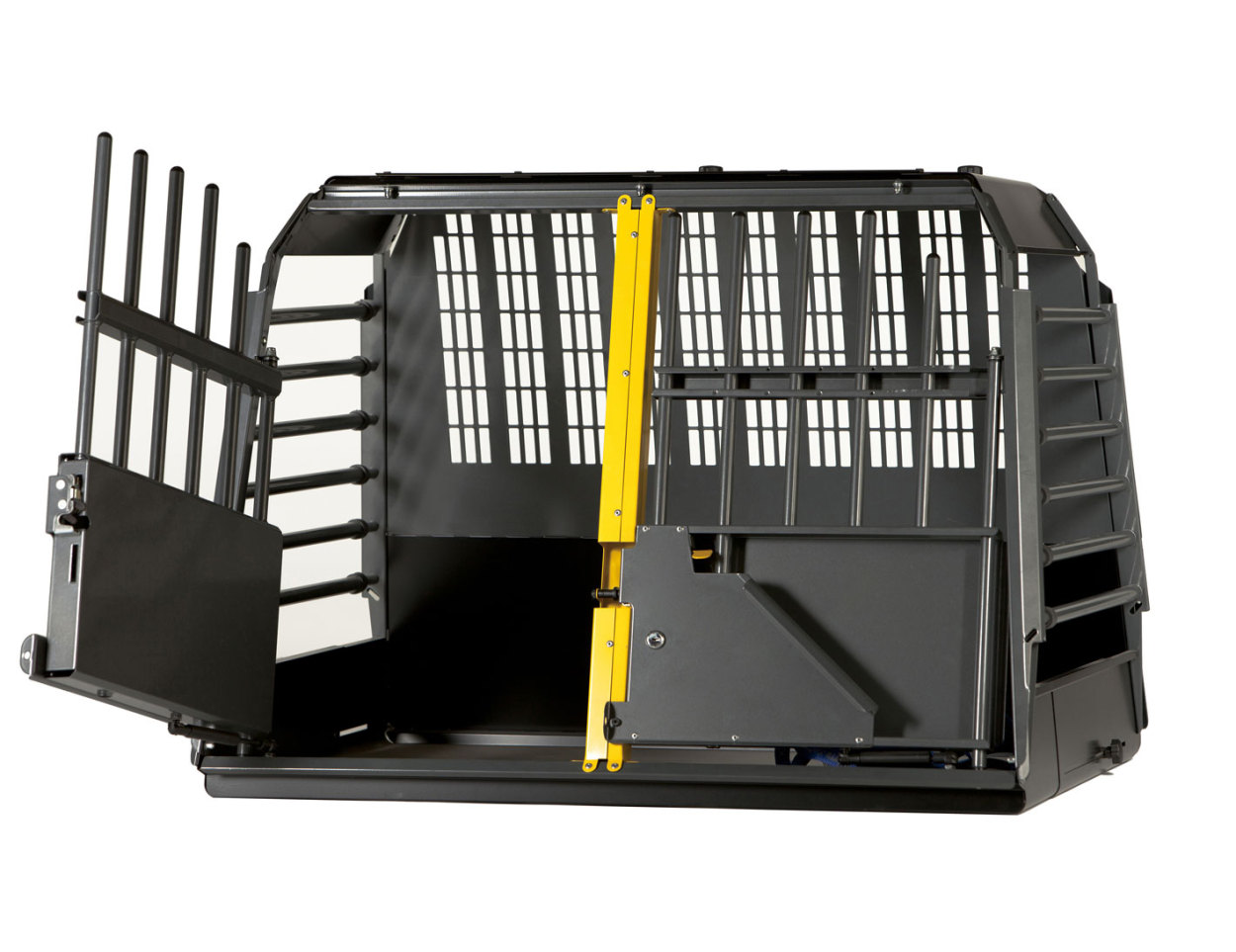 【ポイント5倍】【送料無料】スウェーデン·MIM SAFEの安全性が高いドッグケージ【Vario Cage ダブルサイズ·MaxiMum】