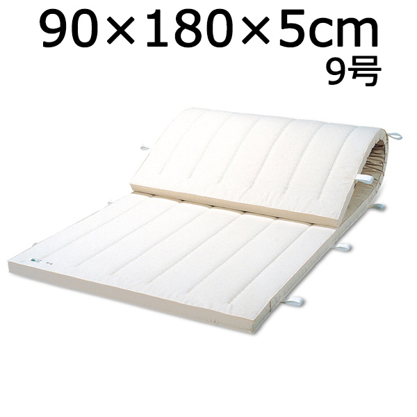 体操マット 送料無料(沖縄・離島を除く) 9号 SGマーク付マット 体操 体育マット 90×180×厚5cm