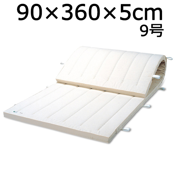 体操マット 9号 マット運動 練習 マット SGマーク付体操マット 90×360×厚5cm 送料無料
