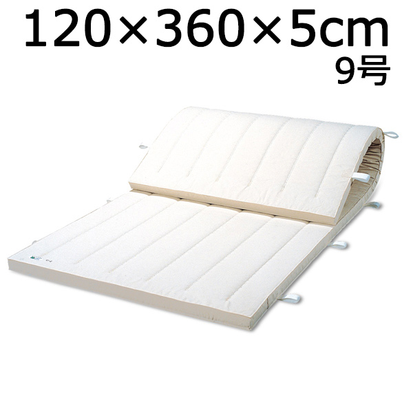 体操マット 9号 マット運動 練習 マット SGマーク付体操マット 120×360×厚5cm 送料無料