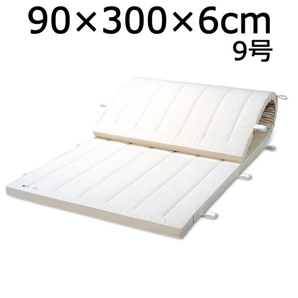 体操マット 9号 SGマーク付マット 体操 体育マット 90×300×厚6cm 送料無料