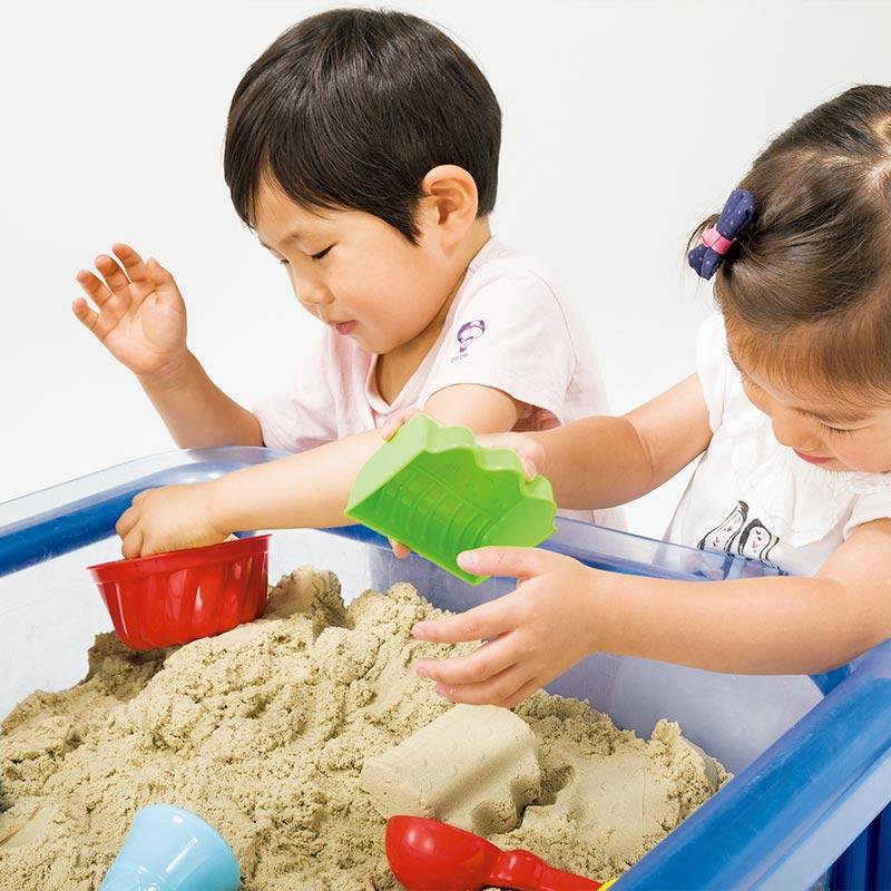 お家の中で砂遊びが出来る不思議な砂 室内砂場遊び・モーションサンド 3kg