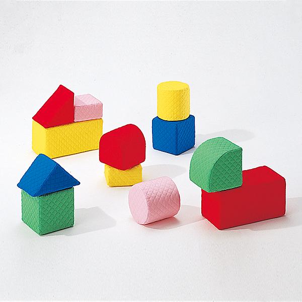 積み木 大型つみきブロック 汚れても洗える大型つみきブロック キルディブロック(15cm基尺)Bセット(12個) 送料無料