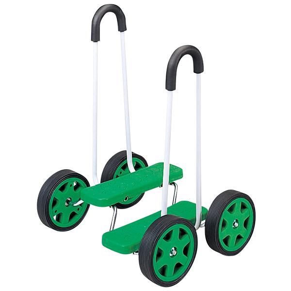 バランス遊具 遊びながらバランス感覚アップ ペダルローラー 補助付き 送料無料