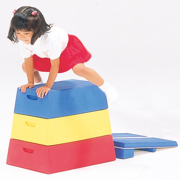 園児向け跳び箱 家庭練習 幼児の体力向上に効果的 年少用とび箱 送料無料