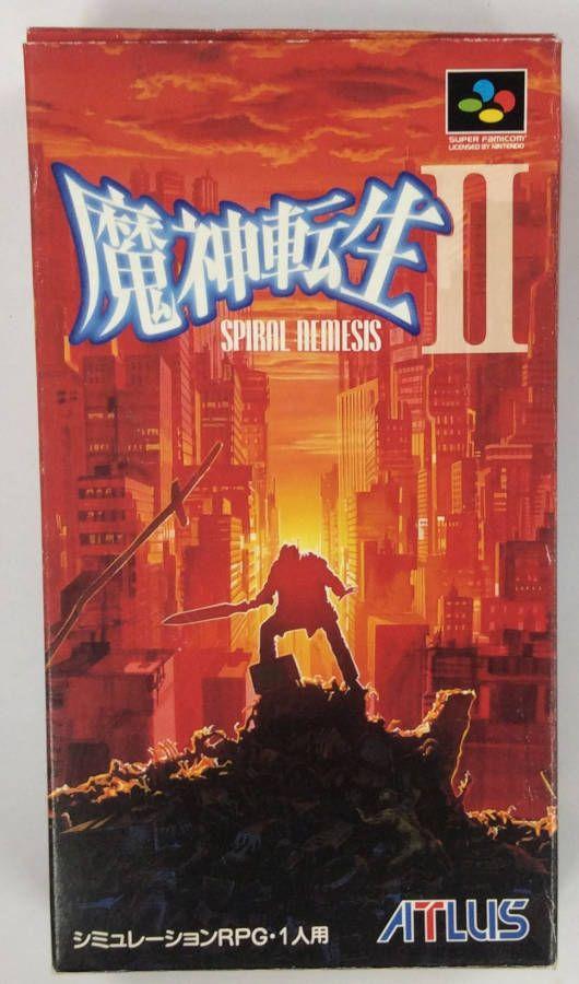 公式サイト SFC 魔神転生2 スパイラルネメシス NEW売り切れる前に☆ 箱説付 中古 スーパーファミコンソフト
