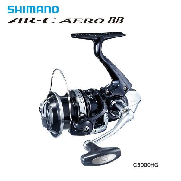 シマノ AR-C エアロ BB C3000HG / リール (S01) (O01) (送料無料) / セール対象商品 (3/29(金)12:59まで)