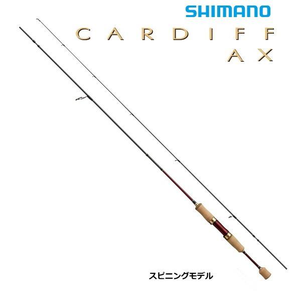 シマノ カーディフ AX S60XUL-RG / トラウトロッド / セール対象商品 (3/4(月)12:59まで)