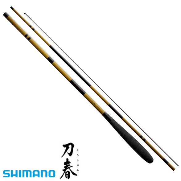 シマノ 刀春 18 (5.4m) / へら竿 (S01) (O01)