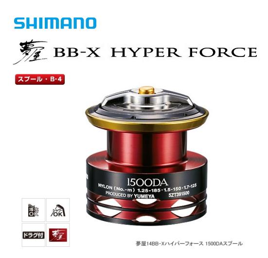 シマノ 夢屋 14 BB-X ハイパーフォース PE0615DA スプール (B-4) (S01) (O01) (送料無料)