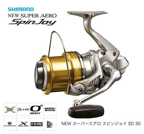 シマノ スーパーエアロ スピンジョイ SD 30 標準仕様 / リール (S01) (O01) (送料無料)